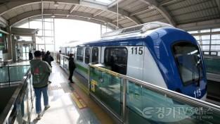 [크기변환]경전철 파업 불구 정상 운행.JPG