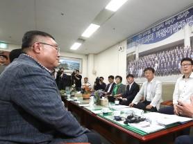 경기도의회 더불어민주당 대표단, 버스 파업문제 해결 위해 노조와 간담회 실시
